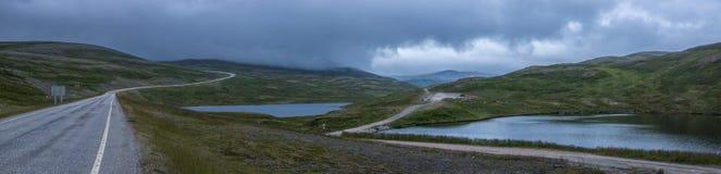 Feriados em Noruega do norte Imagens de Stock