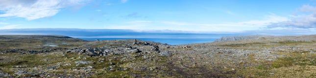 Feriados em Noruega do norte Foto de Stock