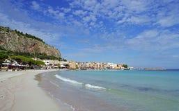 Feriados em Palermo em Sicília Fotografia de Stock Royalty Free