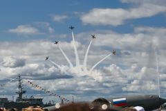 Feriados em St Petersburg Foto de Stock