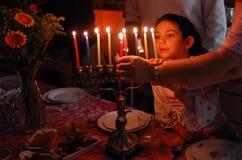 Feriados judaicos Hanukkah Imagens de Stock