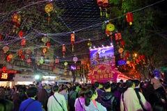 Ferias lunares 5 de la flor del Año Nuevo Imagenes de archivo