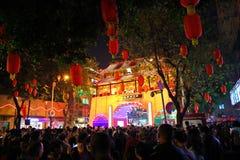 Ferias lunares 3 de la flor del Año Nuevo Fotografía de archivo