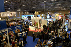 FERIE FOR ALLE _TRAVEL FAIR 2015 Royalty Free Stock Images