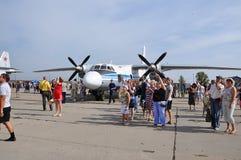 Ferie av 100 år av militära flygvapen av Ryssland Royaltyfri Fotografi