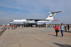 Ferie av 100 år av militära flygvapen av Ryssland Arkivfoto