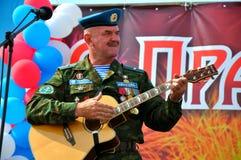 Ferie av 100 år av militära flygvapen av Ryssland Arkivbilder