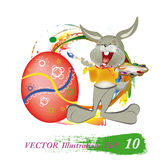 Ferie easter vektor illustrationer