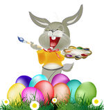 Ferie easter stock illustrationer
