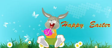 Ferie easter royaltyfri illustrationer