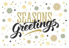 ferie för hälsningar för julsammansättning smyckar kall grön säsonger för fotopresentsred royaltyfri illustrationer
