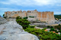 Ferie i Corse Arkivbild