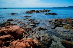 Ferie i Corse Arkivbilder