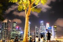 Ferie i Singapore Arkivfoton