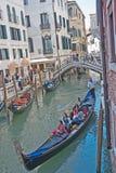 Ferie i Venedig Arkivbilder