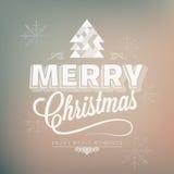 Ferie - lycklig glad jul för ram royaltyfri illustrationer