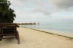 ferie maldives Royaltyfri Fotografi