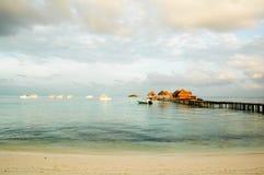 ferie maldives Fotografering för Bildbyråer