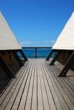 ferie returnerar sommar Fotografering för Bildbyråer