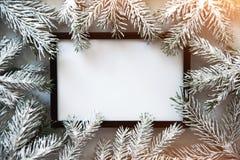 Feriebakgrund för jul och för nytt år Detaljerade 3d framför vinter för snow för pojkeferielay arkivfoto
