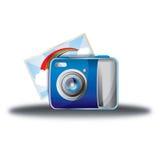Feriecmaera Fotografering för Bildbyråer