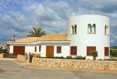 Feriehus i Majorca Arkivbild