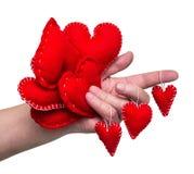 Feriekort, valentin Royaltyfri Bild