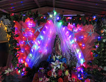 FerieKristi födelse i Chilpancingo Mexico Royaltyfria Foton