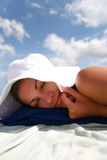 Ferien auf dem Meer Stockfoto