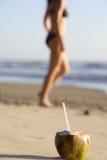 Ferien auf Strand Stockbilder