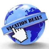 Ferien behandeln Show-Förderungs-Bruch und billig vektor abbildung