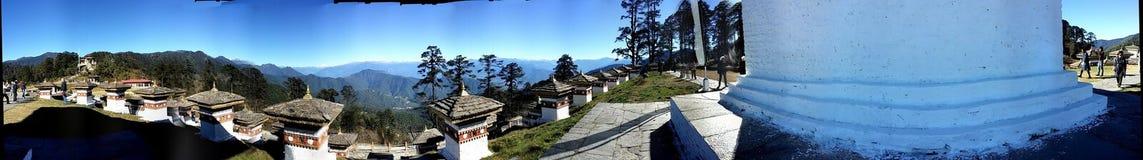 Ferien in Bhutan Lizenzfreies Stockbild