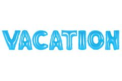 Ferien, blaue Farbe Lizenzfreies Stockfoto