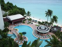 Ferien in Guam Lizenzfreies Stockbild