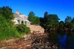 Ferien-Haus Acadia-Nationalpark Maine Stockfotos
