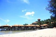 Ferien-Hotel stockbild