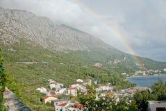 Ferien - Igrane, Kroatien Lizenzfreie Stockfotos