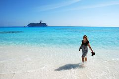 Ferien in Karibischen Meeren Stockbilder