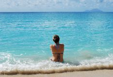 Ferien in Karibischen Meeren Lizenzfreies Stockfoto