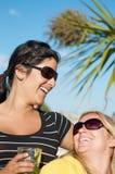 Ferien-Party auf der Insel Stockbilder