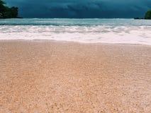 Ferien-Strand auf Osttimor, Indonesien Lizenzfreie Stockfotografie