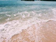 Ferien-Strand auf Osttimor, Indonesien Stockbild