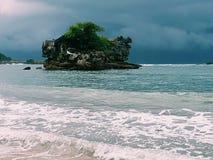 Ferien-Strand auf Osttimor, Indonesien Lizenzfreie Stockbilder
