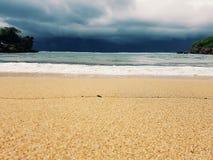 Ferien-Strand auf Osttimor, Indonesien Stockfoto