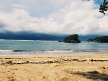 Ferien-Strand auf Osttimor, Indonesien Stockbilder
