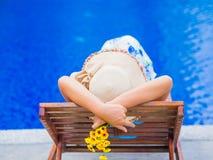 Ferien, Strand, Sommerreisekonzept stockfoto