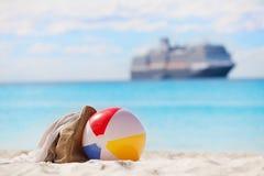 Ferien und Kreuzfahrtkonzept Stockfotografie