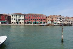 Holiday in Italy Venice. Canal stock photography