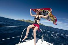 Ferien-Zeit - Fidschi im South Pacific lizenzfreies stockbild