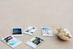 Feriengedächtnisse Stockfoto